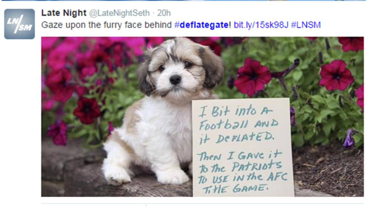 Deflategate Leads To Jokes Memes New Products