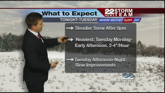 Major winter storm heading for Western Mass.