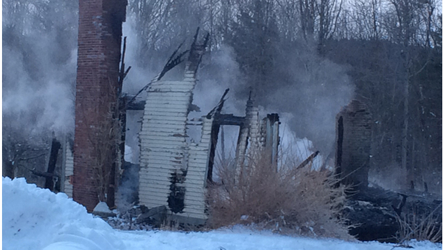 Wendell house destroyed by fire