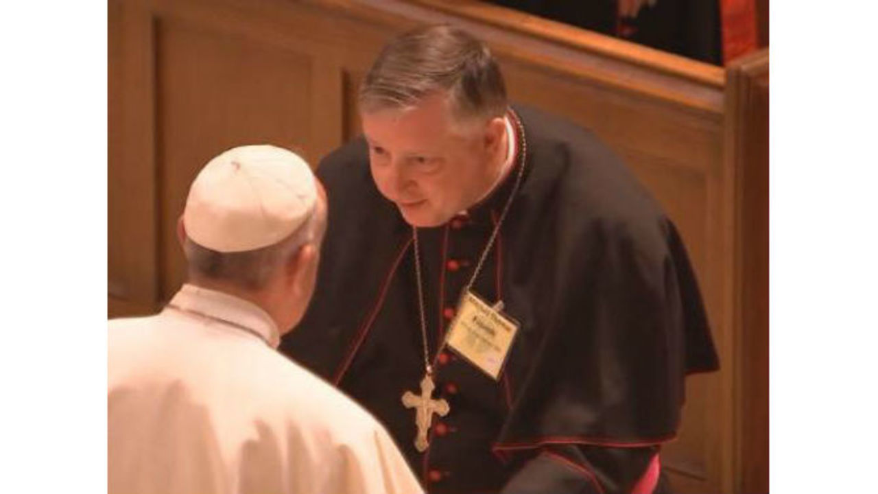 Bishop rozanski feels blessed to have met pope francis m4hsunfo
