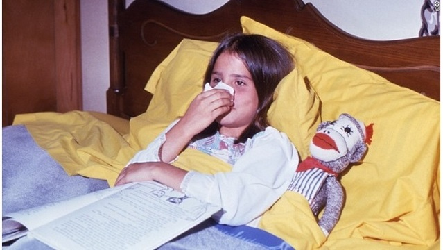 The (very few) upsides to childhood illnesses
