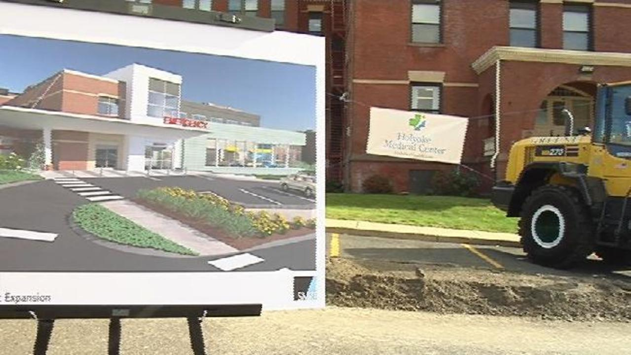 Holyoke Medical Center Hold Groundbreaking Ceremony For New Building