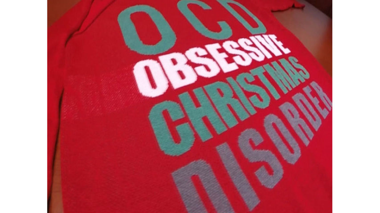 Target criticized for selling OCD/Obsessive Christmas Disorder sweater