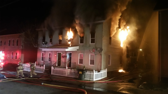 Candle started fire that destroyed multi-family home in Ware