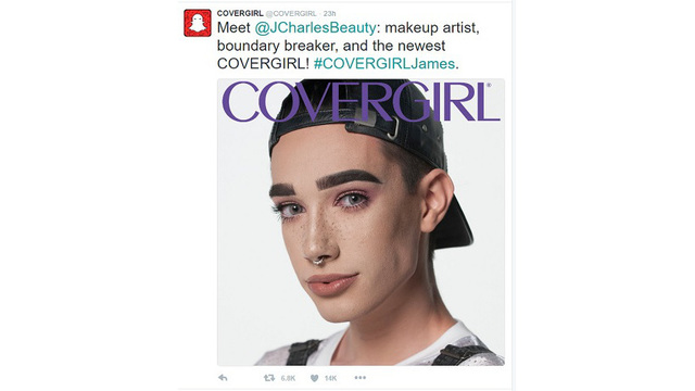 Meet CoverGirl's first cover boy