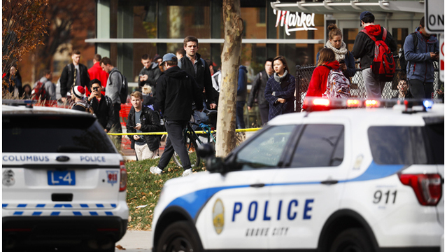 Suspect dead, 11 injured in stabbing attack on Ohio State campus