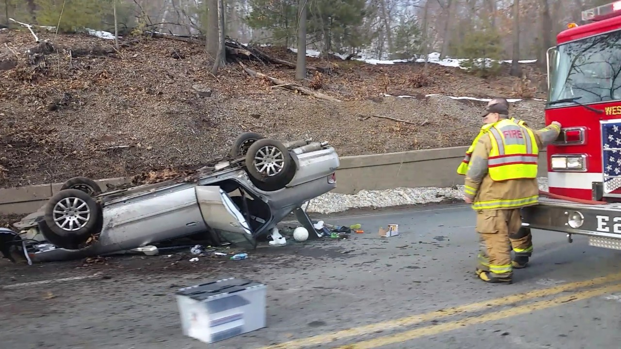 Two accidents along Route 20 in Westfield and West Springfield