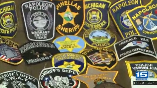 Family Collects Police Patches For Sick Boy Aspiring To Be An Officer