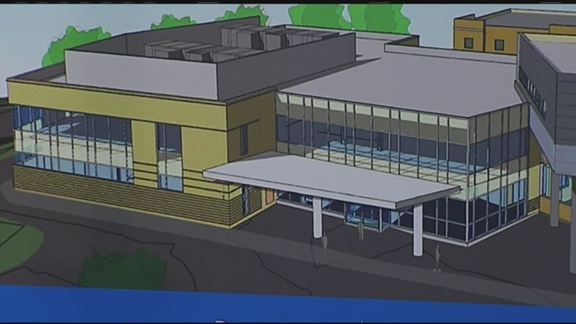 New emergency department under construction at Baystate Wing ...