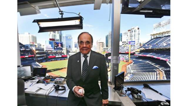 Longtime sportscaster Dick Enberg found dead at home at 82