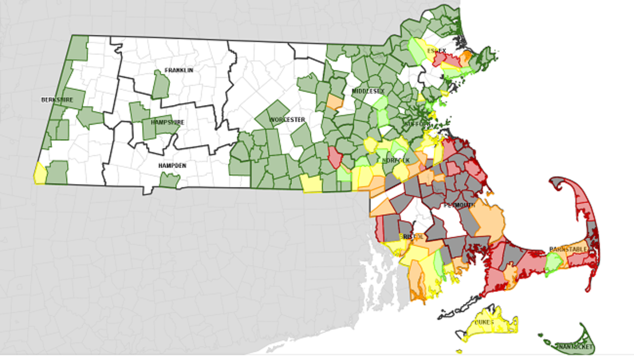 National Grid Power Outage Map Eastern Massachusetts.Thousands Without Power In Massachusetts Due To Strong Winds Flooding