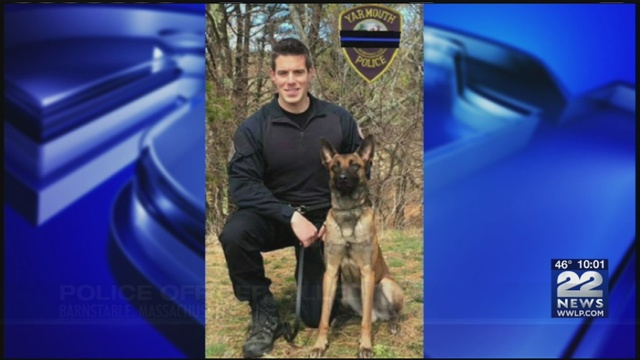Police officer shot while serving a warrant in Barnstable class=