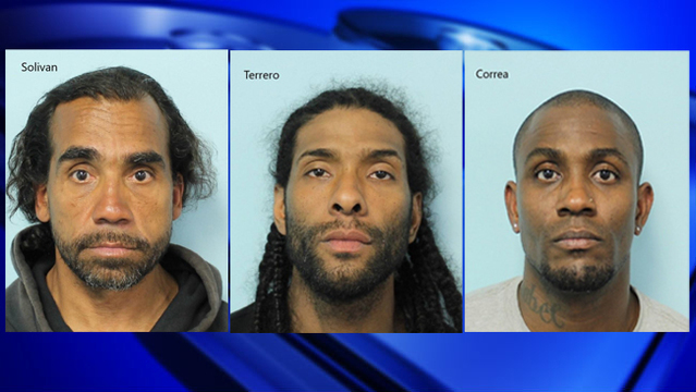 3 arrested on drug charges in Springfield