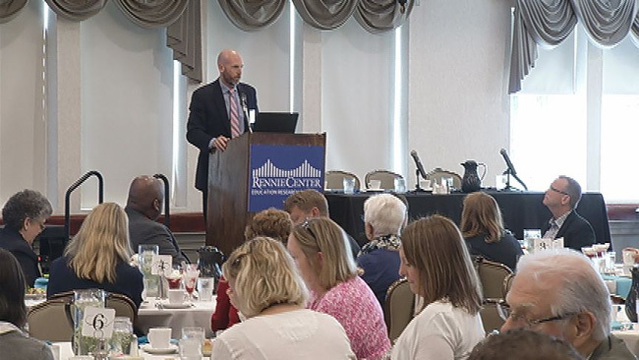 Education discussion held at Log Cabin in Holyoke