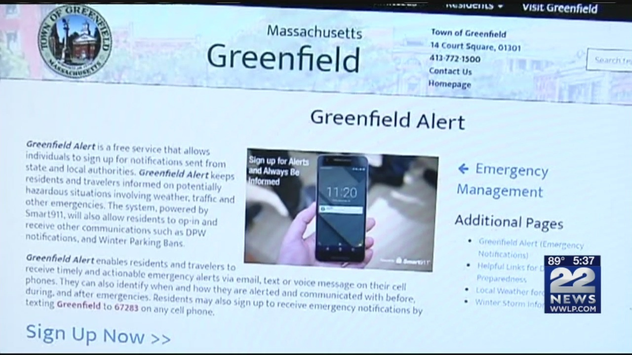 New alert system available for Greenfield residents to keep