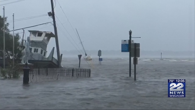 Florence downgraded to tropical storm