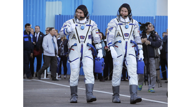 NASA says 2 astronauts in good condition after failed launch