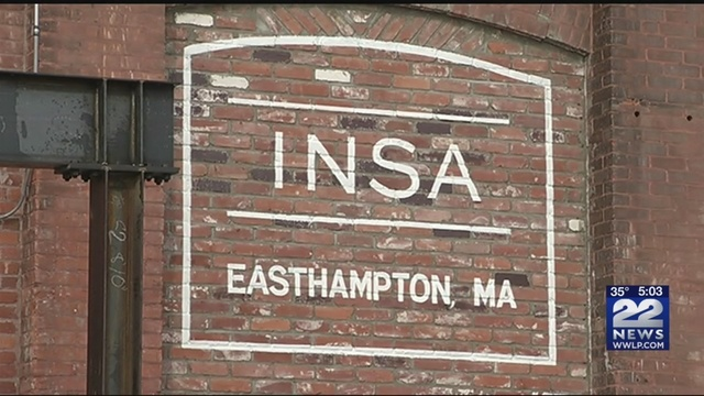 22 News at 5 p m INSA in Easthampton approved for