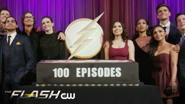The Flash 100th Episode Party