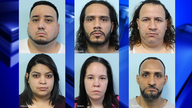 Six people arrested after police seize drugs, money from Dwight St. apartments