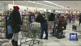 Residents stocking up on food, supplies in preparation for winter storm