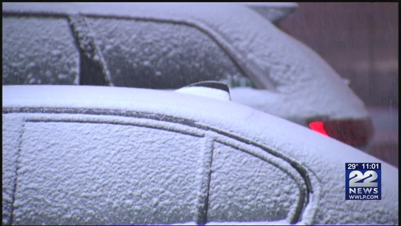 Snowy weather could lead to slippery commute Wednesday