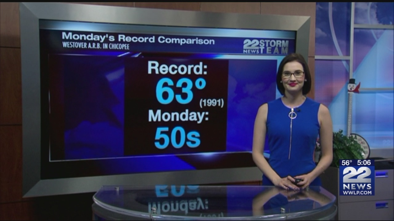 Warm weather to continue into Tuesday