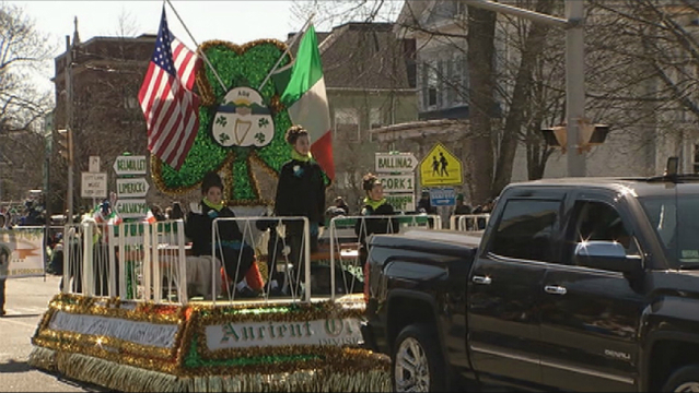Holyoke St. Patrick's Parade route and details