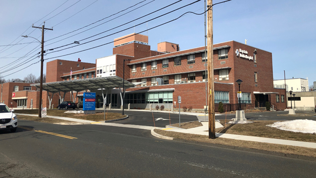 Domestic stabbing caused Baystate Noble lockdown; Suspect found dead