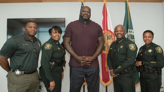 Shaq now working as auxiliary deputy for Florida sheriff department