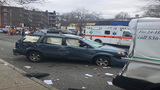 No one hurt after six cars crashed in Holyoke Thursday afternoon